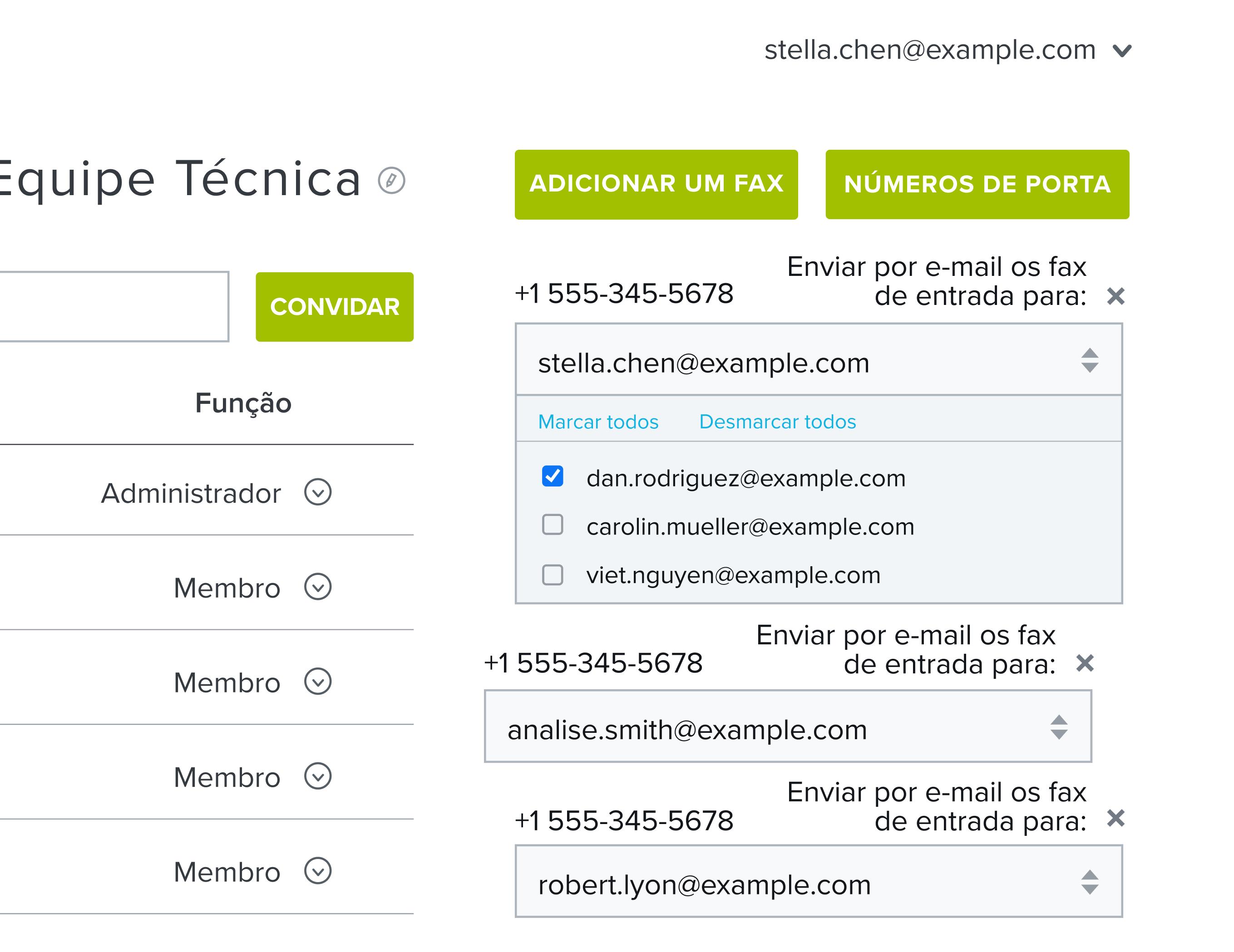 Recebendo um fax do HelloFax na sua caixa de entrada